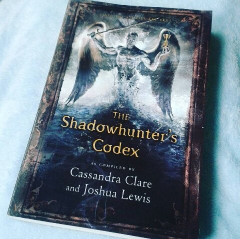 Review The Shadowhunter S Codex By Cassandra Clare
